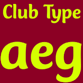 Club Type Medium FlipFont