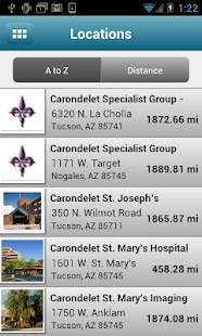 Carondelet Health Network - screenshot thumbnail