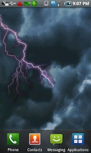 Lightning Live Wallpaper Free - screenshot thumbnail