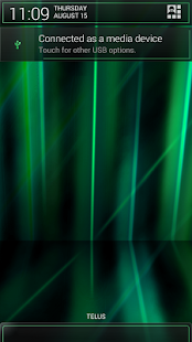 Laser Green CM11/AOKP Theme - screenshot thumbnail