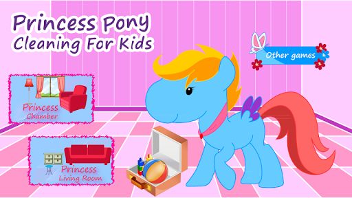 Princess Pony Clean For Kids