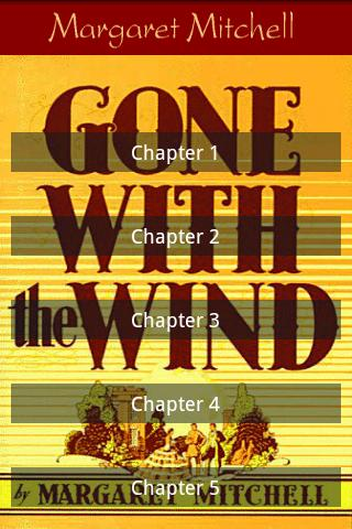 Gone with the wind - screenshot