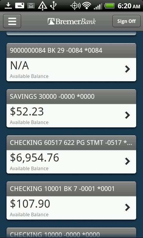 how to add bills pc financial android