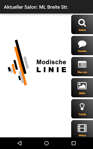 Modische Linie