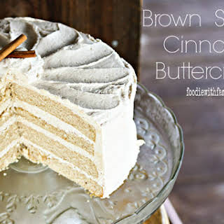 Brown Sugar Buttercream Frosting.
