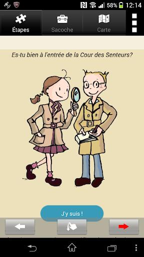 Petits détectives à Versailles