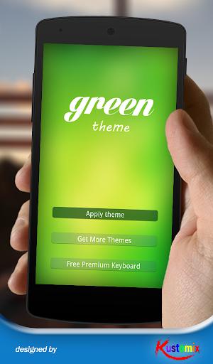 Green Theme Keyboard