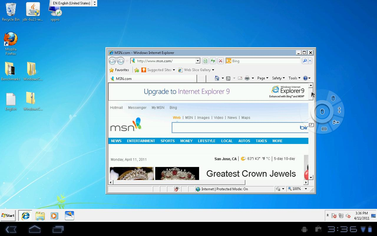 PocketCloud Remote Desktop Pro - screenshot
