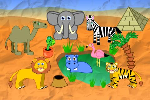 Animals for Toddlers- screenshot