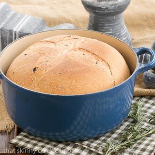 Rosemary Olive Bread.
