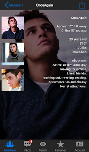 Jack'd - Gay Chat & Dating v1.8.9a