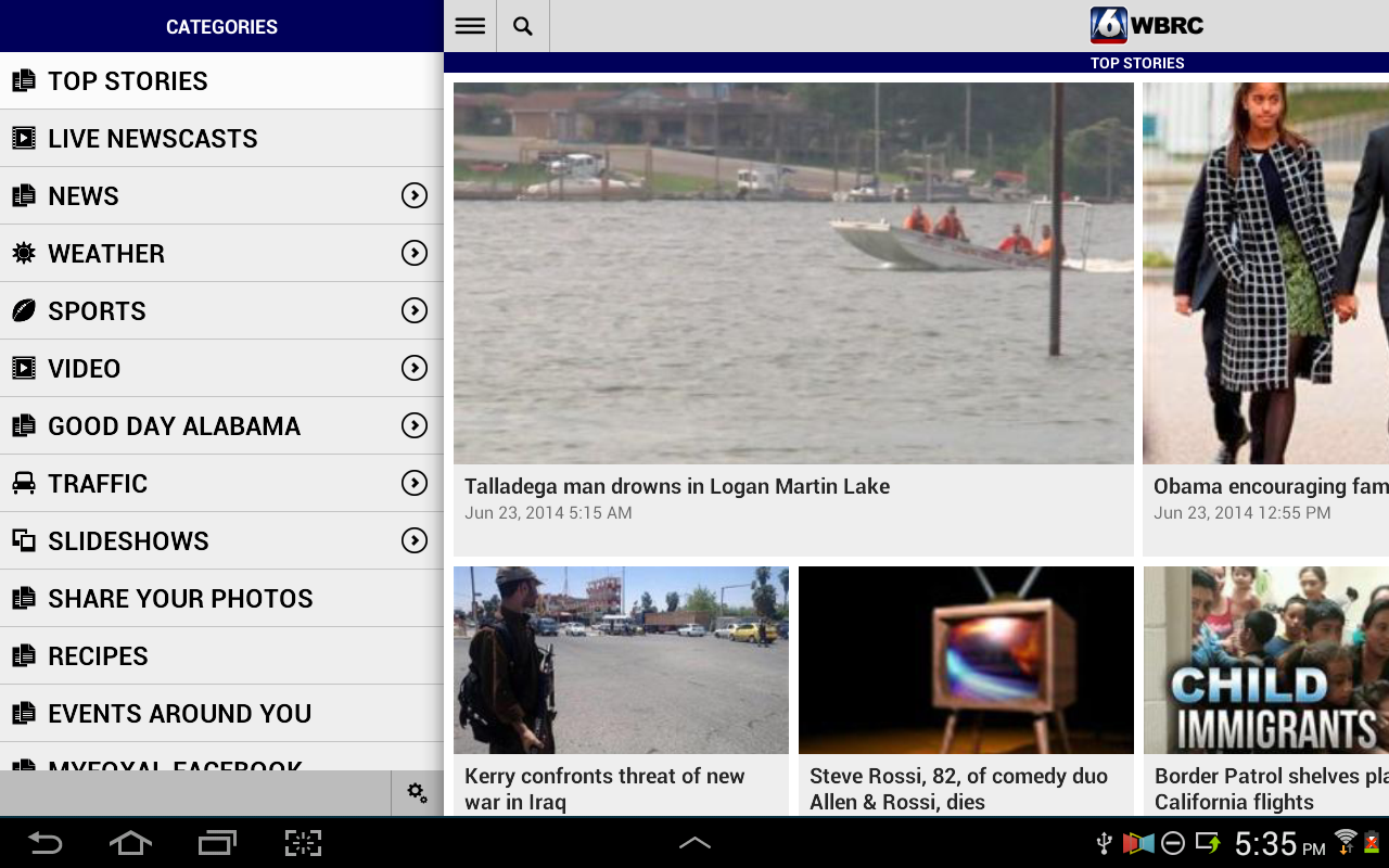 WBRC FOX6 News Birmingham (Android) reviews at Android