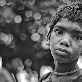 Lonlyness by Soham Banerjee - Black & White Street & Candid