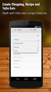 Shopping List - Pro - screenshot thumbnail