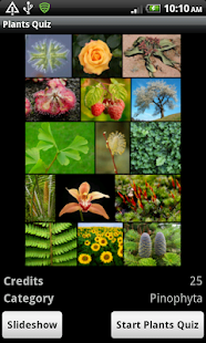 Plants Quiz - for botanists- screenshot thumbnail