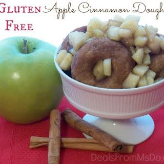 Gluten Free Apple Cinnamon Doughnuts