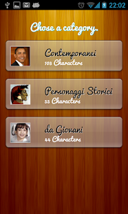 Il Quiz dei personaggi famosi - screenshot thumbnail