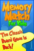Screenshot of Memory Match For Kids