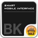 SMART MOBILE INTERFACE -Black icon