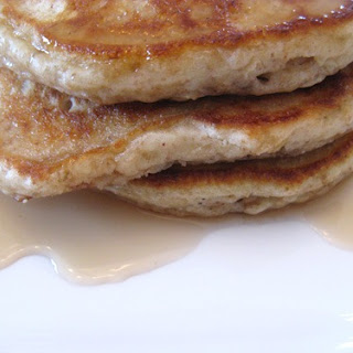 Whole Grain Oatmeal Pancakes