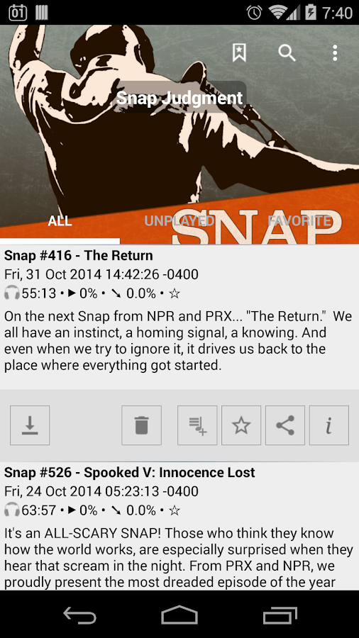 Public Radio & Podcast - screenshot
