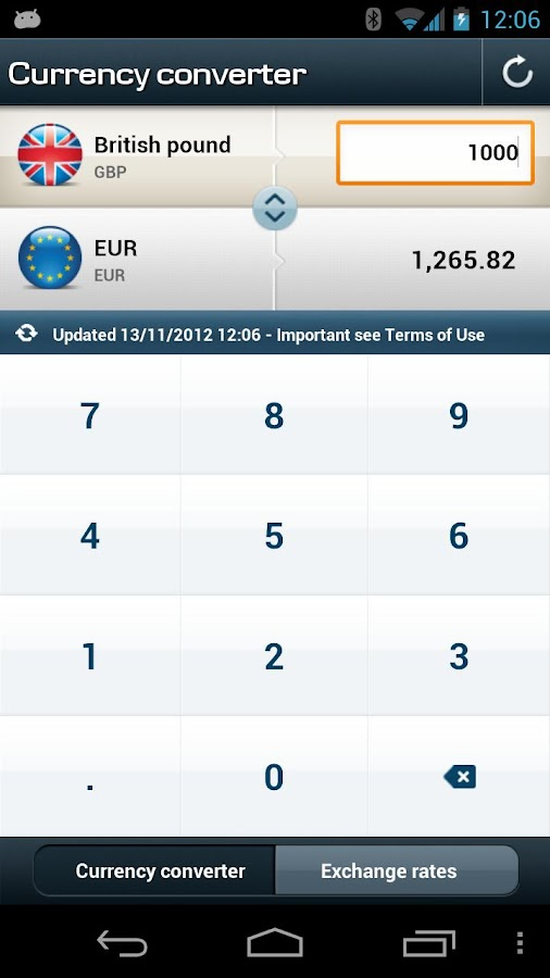 Mobile Bank UK- screenshot