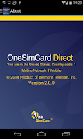 Screenshot of OneSimCard Direct