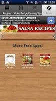 Screenshot of Salsa Recipes!!