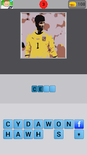 Guess The Footballer Quiz - screenshot thumbnail
