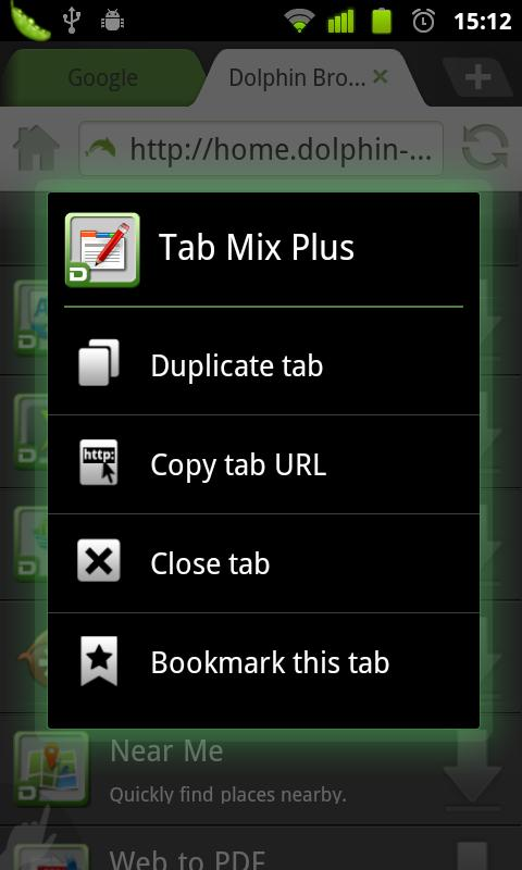 Dolphin Tab Mix Plus - screenshot