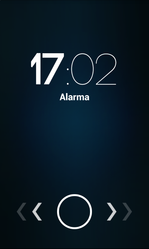 Screenshots of Alarm for iPhone