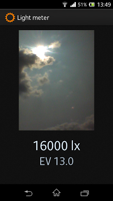 Light meter (no ads) - screenshot