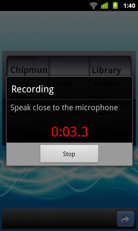 Best Voice Changer- screenshot