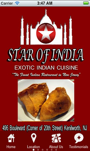 Star of India Restaurant