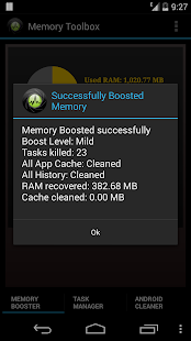 Memory Toolbox for Android- screenshot thumbnail