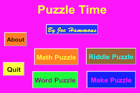 Puzzle Time- screenshot thumbnail