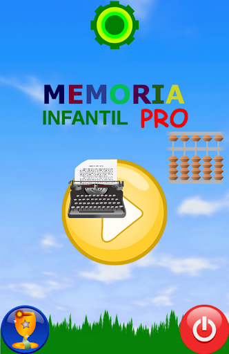 Memoria Infantil Niños Pro