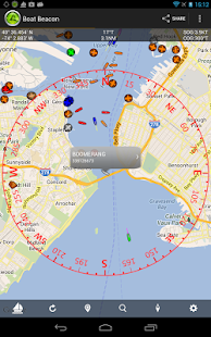 Boat Beacon - AIS Navigation - screenshot thumbnail