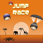 Jump race - skydiving