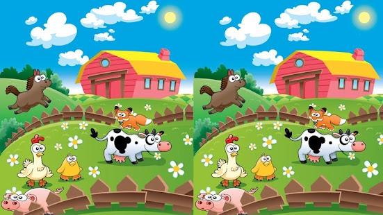 Çiftlikte Fark Bulma Oyunu - screenshot thumbnail
