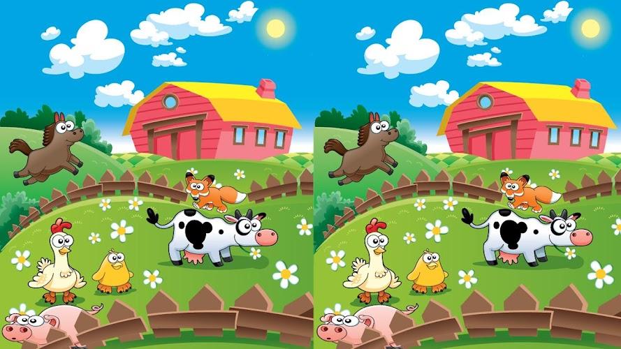 описание картинки животных с игры моя ферма отличается