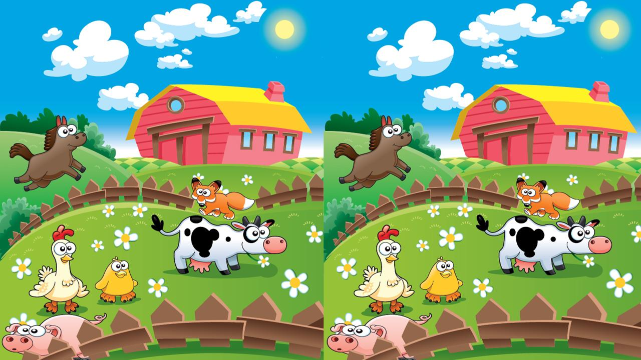 Happy Farm Find Differences- ekran görüntüsü