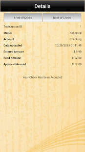 SCFCU Mobile Deposit™ - screenshot thumbnail