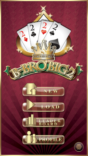 B-Bro Big2 (Big Two/Pusoy Dos) 1.55 screenshots 3