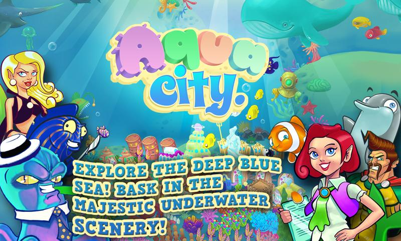 Aqua City: Fish Empires - screenshot
