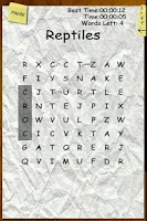 Screenshot of Word Search Craze Free