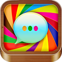 Color SMS Text Message Friends icon