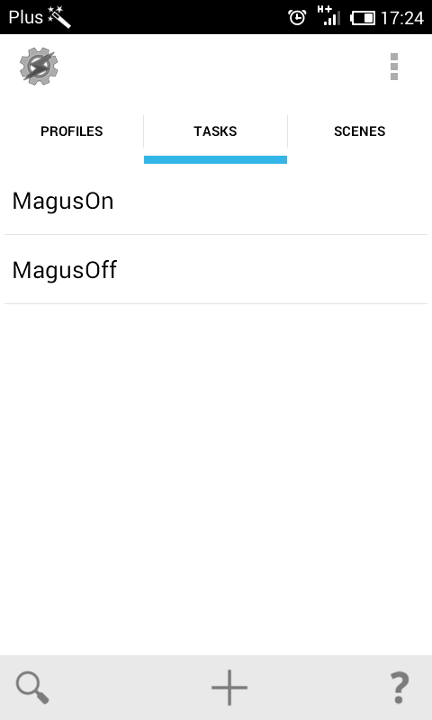 Magus Takser-Plugin - screenshot