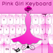 Pink Keyboard Girl Theme