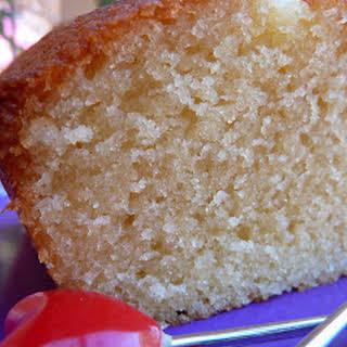 Almond and Lemon Cake.